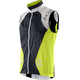 X-Bionic SphereWind Running Vest Men Green Lime/White/Black